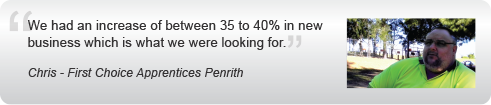 How Chris Increased Sales With A Web Designer in Penrith